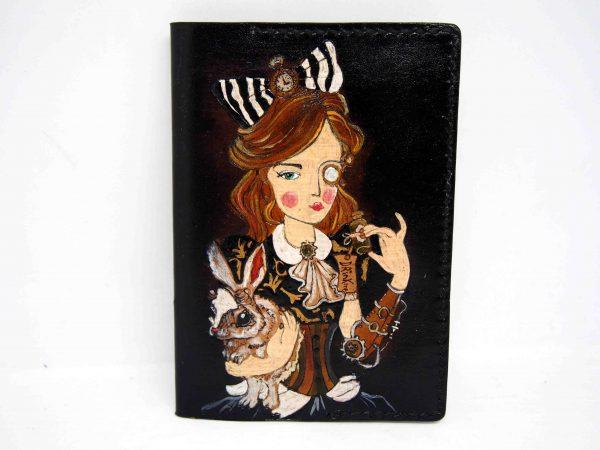 обложка на паспорт Алиса фото