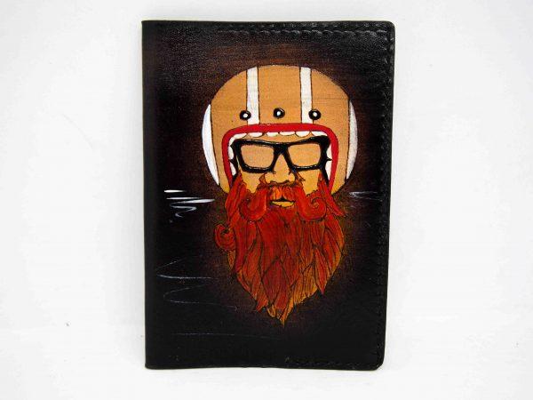 обложка на паспорт бородач фото