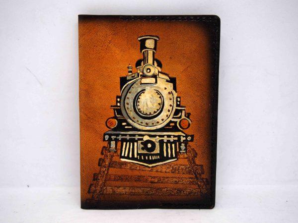 обложка на паспорт поезд фото