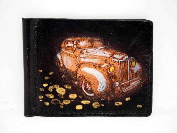 зажим для денег ретро машина фото