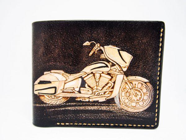 кошелек с мотоциклом фото 221