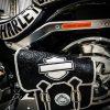 кожаный боковой кофр на мотоцикл Harley Davidson 3