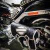 кожаный боковой кофр на мотоцикл Harley Davidson 2
