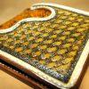 коричневый кожаный кошелек из экзотической кожи фото
