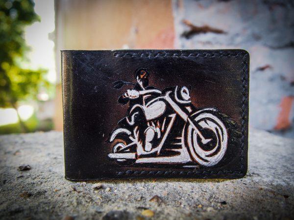 обложка на id паспорт с мотоциклом фото 2