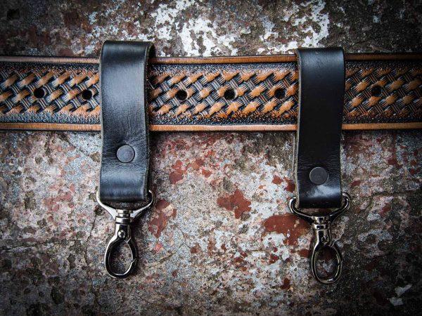 кожаные ремешки для подсумка на ремень фото