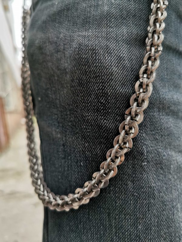 металлическая цепь для кошелька 3 фото