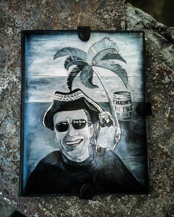 папка для морских документов с портретом фото 8